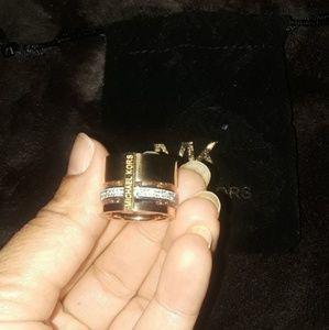 Bundle MK ring and earings